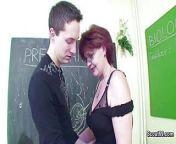 Female Sex Teacher Seduce Young Boy to Fuck her MILF Pussy from teacher sex boy 3gp