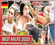 Best German MILFs 2020 Compilation! milfhunter24.com from gafuck 2020 sex com