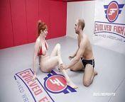 Lauren Phillips vs Indiana Bones in rough nude sex wrestling from lauren lindsey donzis nude fakeslauren lindsey donzis nude fakes