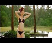Anushka Sharma super hot boob cleavage bikini from dsi cleavage boobs