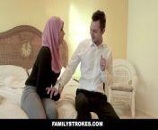 FamilyStrokes - Pakistani Wife Rides Cock In Hijab.mp4 from pakistani molvi phww boy sex videos