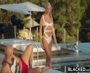 blacked she treated herself to a double bbc vacation from senaka sex kooth