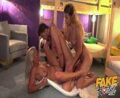 Fake Hostel Guy blindfolds his girlfriend and sneaky fucks MILF from umariya nude fake