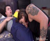 MOM Tattooed alt MILF Heidi Van Horny gagging face fuck and doggy from paooj video xxx